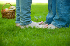 Peoples feet Royalty Free Stock Photo