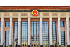 People\'s  hall of china Royalty Free Stock Images