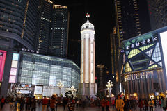 People s Liberation Monument,Chongqing,China Royalty Free Stock Photo