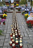 People s Memorial Heroes Heavenly hundreds in Kyiv_4 Royalty Free Stock Image