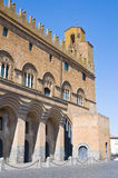 People's palace. Orvieto. Umbria. Italy. Royalty Free Stock Images