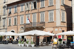 People's square in Ascoli - IT Stock Images