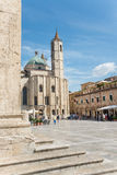 People's square in Ascoli - IT Royalty Free Stock Images