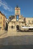 People`s square in Zadar Stock Photo