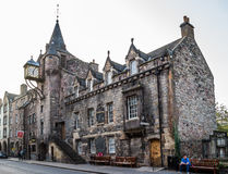 The People`s Story museum and Canongate Tollbooth in Edinburgh, Stock Photos