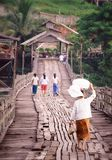 People`s way of life in the countryside. Of Thailand Royalty Free Stock Photo