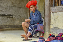 People of Sa Pa in Vietnam Royalty Free Stock Photos