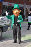 People in Saint Patrick's Day parade Royalty Free Stock Photos