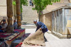 People in SAMARKAND, UZBEKISTAN Stock Photo
