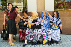 People in SAMARKAND, UZBEKISTAN stock images