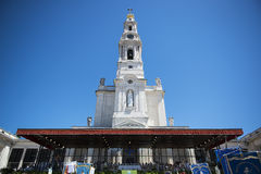 People at the Sanctuary of Fatima during the celebrations of the apparition of the Virgin Mary in Fatima, Portugal. Fatima, Portugal - May 13, 2014: People at Stock Images