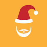 People Santa face Stock Images