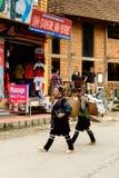 People of Sapa, Vietnam Stock Photo