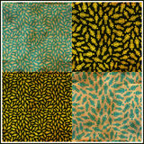 People. Seamless pattern. Royalty Free Stock Image