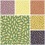 People. Seamless pattern. Royalty Free Stock Photos