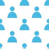 People seamless pattern Stock Photos