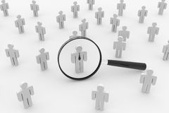People Search. Employee Search. Stock Photo