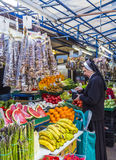 People sell their goods at the market in Krakow Royalty Free Stock Photography