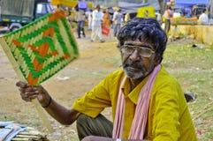 Indian rural market Stock Photos