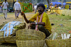 Indian rural market Stock Photography