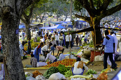 Indian rural market Stock Images