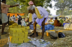Indian rural market Royalty Free Stock Images