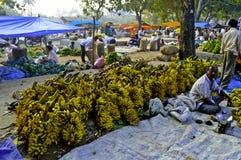 Indian rural market Stock Image