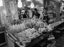 People selling drinks on street in Taipei, Taiwan Royalty Free Stock Image