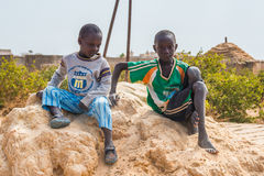 People in Senegal, Africa Stock Photography