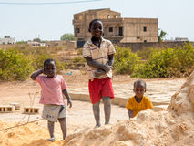 People in Senegal, Africa Royalty Free Stock Photography