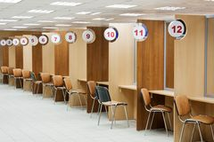 People service office Stock Photography