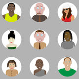 People set Stock Images