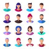 People. Set of modern icons. Vector illustration royalty free illustration