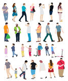 People Set Vector Illustration Royalty Free Stock Photo