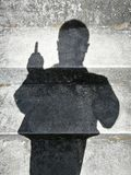 People shadows Stock Photography