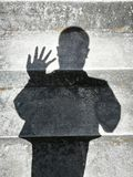 People shadows Stock Images