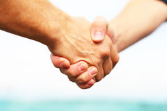 People shaking hands Royalty Free Stock Photography