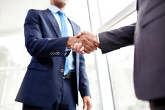 People shaking hands Stock Photography