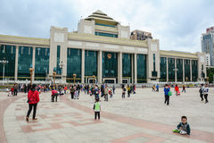People in Shanghai, China Royalty Free Stock Photography