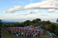 Tent at Nan Mountain 360 Degree view royalty free stock image