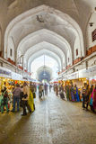People shop inside the Bazaar Royalty Free Stock Image