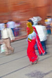 People shop inside the  Meena Royalty Free Stock Images