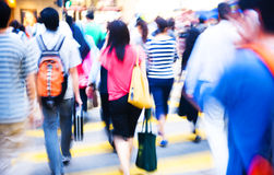 People Shopping Crowd Rush Hour Concept Stock Photos