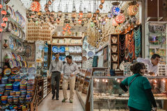 People Shopping in the Grand Bazar in Istanbul, Turkey Stock Photography