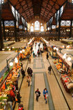 People shopping in the Great Market Hall at Budapest Royalty Free Stock Image