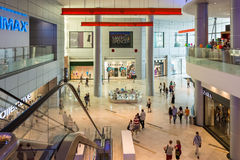 People Shopping In Luxurious Shopping Mall Stock Image