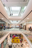 People Shopping In Luxury Shopping Mall Interior Royalty Free Stock Photo