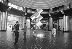 People at the shopping mall in Kuala Lumpur, Malaysia.  Stock Image
