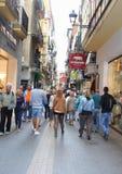 Shopping paradise in Palma, Mallorca, Spain Stock Image