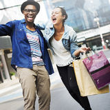People Shopping Spending Customer Consumerism Concept.  Royalty Free Stock Images